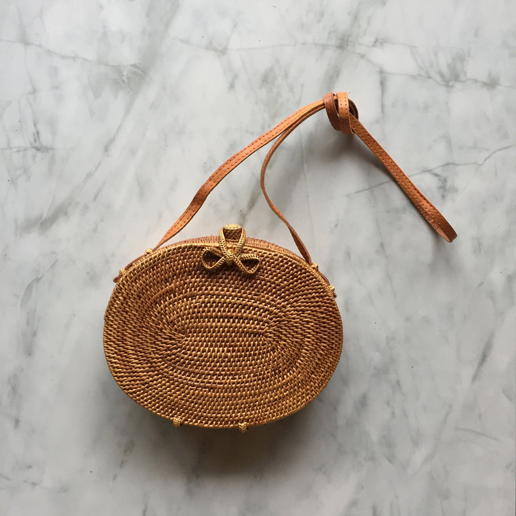 Handwoven Box Bag