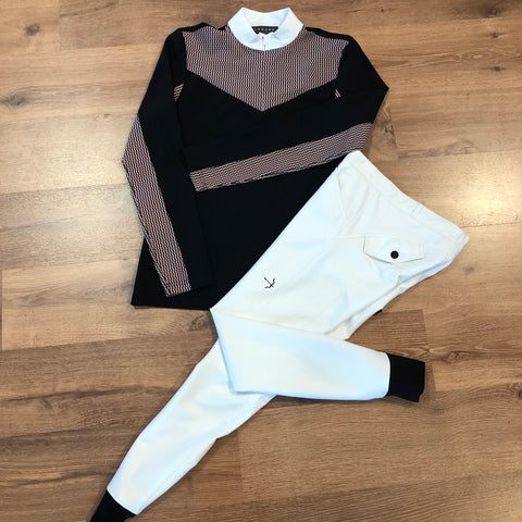 Laguso Laura Grip Breeches and Vivienne Show Shirt