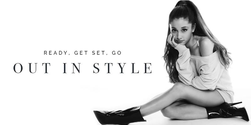 Dress up in style with Ariana Grande at the F1 race
