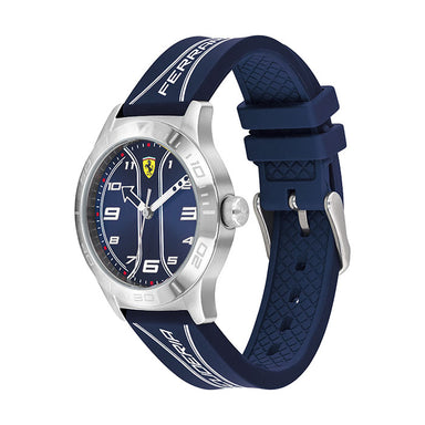 Scuderia Ferrari Academy Blue Kid's Watch (810026)-COCOMI