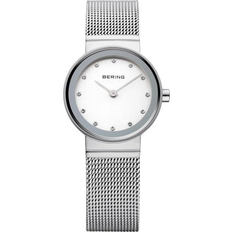 Bering Classic 10122-000 Silver 22 mm Women's Watch - COCOMI