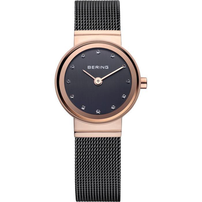 Bering Classic 10122-262 Brown 22 mm Women's Watch - COCOMI