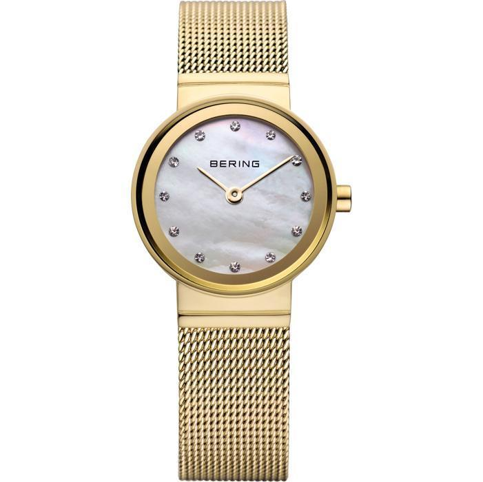 3bfd81a197e Bering Classic 10122-334 Mother Of Pearl 22 mm Women s Watch - COCOMI