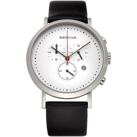 Classic 10540-404 White 40 mm Men's Watch-COCOMI