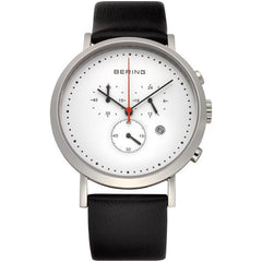 Bering Classic 10540-404 White 40 mm Men's Watch - COCOMI