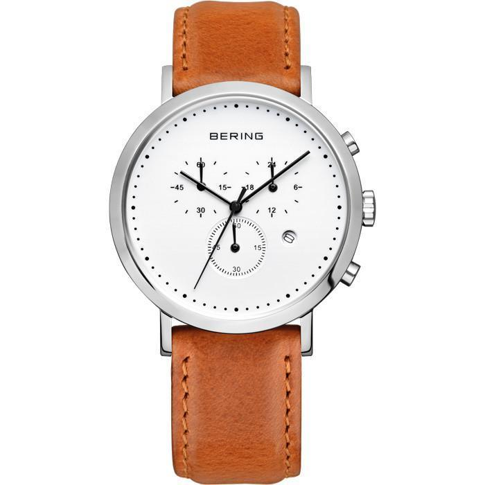 Classic 10540-504 White 40 mm Men's Watch-Bering-COCOMI