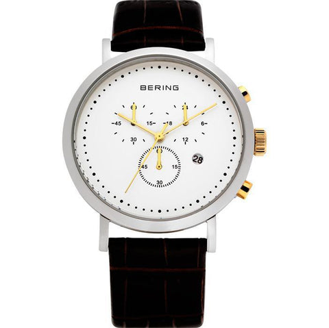 Bering Classic 10540-534 White 40 mm Men's Watch - COCOMI