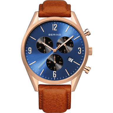 Classic 10542-467 Blue 42 mm Men's Watch-Bering-COCOMI