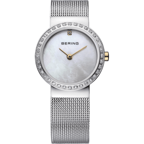 Bering Classic 10725-010 White 25 mm Women's Watch - COCOMI