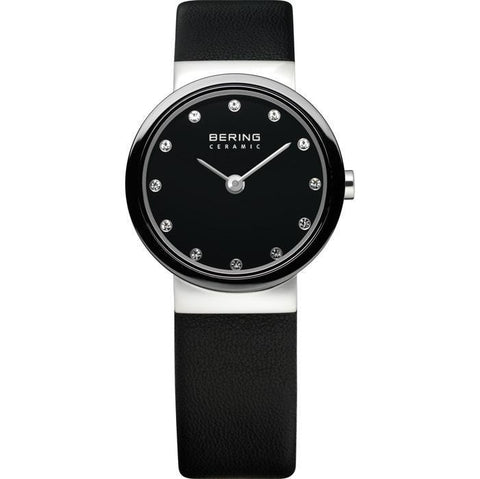 Bering Classic 10725-442 Black 25 mm Women's Watch - COCOMI