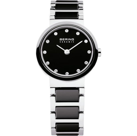 Bering Ceramic 10725-742 Black 25 mm Women's Watch - COCOMI