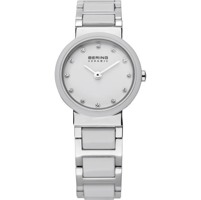 Bering Ceramic 10725-754 White 25 mm Women's Watch - COCOMI
