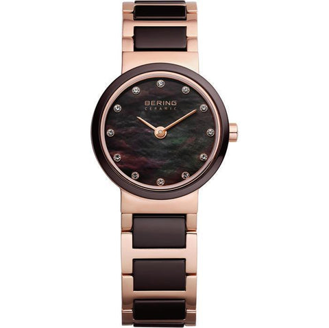 Bering Ceramic 10725-765 Mother Of Pearl 25 mm Women's Watch - COCOMI