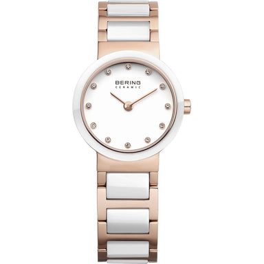 Ceramic 10725-766 White 25 mm Women's Watch-Bering-COCOMI