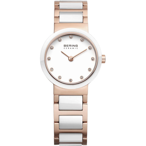 Ceramic 10725-766 White 25 mm Women's Watch-COCOMI