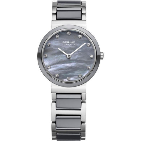 Bering Ceramic 10725-789 Mother Of Pearl 29 mm Women's Watch - COCOMI