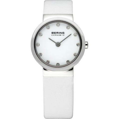 Bering Classic 10725-854 White 25 mm Women's Watch - COCOMI