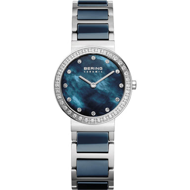 Ceramic 10729-707 Blue 29 mm Women's Watch-Bering-COCOMI