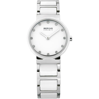 Ceramic 10729-754 White 29 mm Women's Watch-Bering-COCOMI