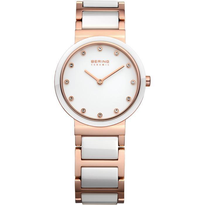 Ceramic 10729-766 White 29 mm Women's Watch-Bering-COCOMI
