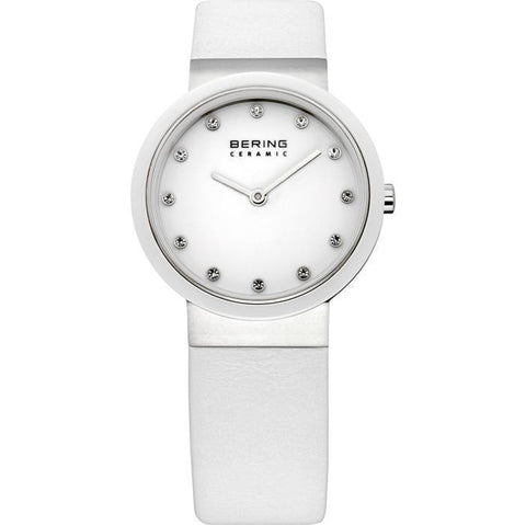 Bering Classic 10729-854 White 40 mm Women's Watch - COCOMI