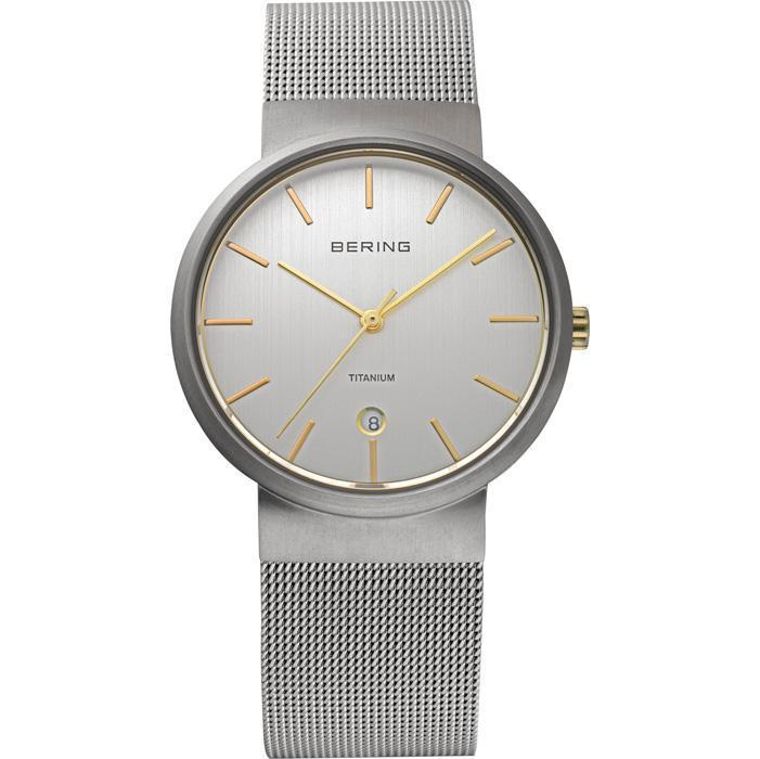 Bering Classic 11036-004 Silver 36 mm Men's Watch - COCOMI
