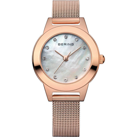 Bering Classic 11125-366 White 25 mm Women's Watch - COCOMI