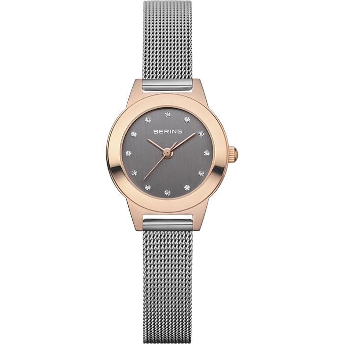 Bering Classic 11125-369 Grey 25 mm Women's Watch - COCOMI