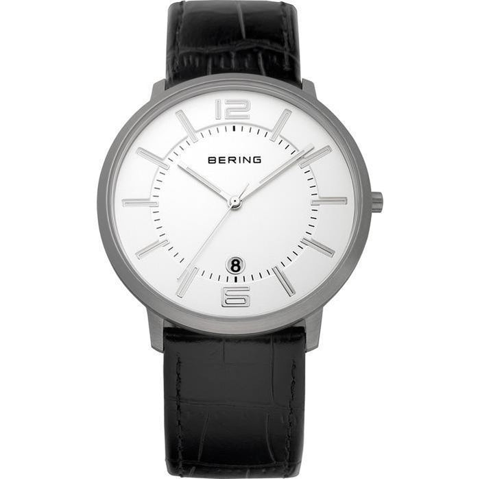 Classic 11139-000 White 39 mm Men's Watch-Bering-COCOMI