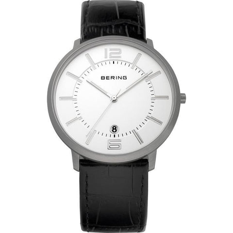 Bering Classic 11139-000 White 39 mm Men's Watch - COCOMI