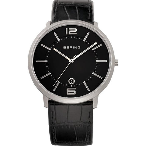 Classic 11139-409 Black 39 mm Men's Watch-COCOMI-11139-409