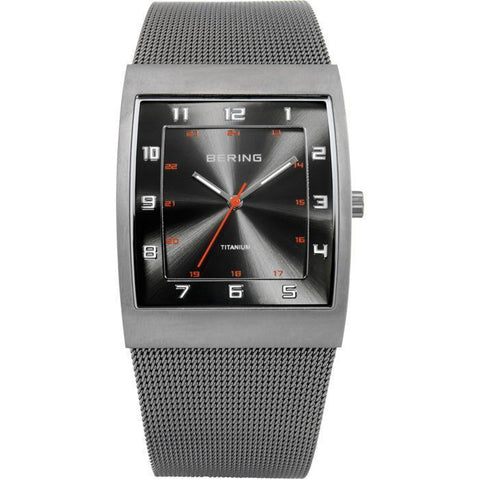 Bering Classic 11233-077 Grey 37 mm Men's Watch - COCOMI