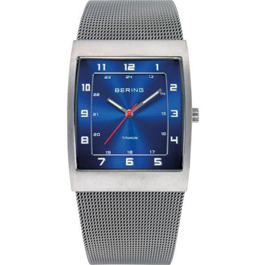 Titanium 11233-078 Blue 33 mm Men's Watch-Bering-COCOMI