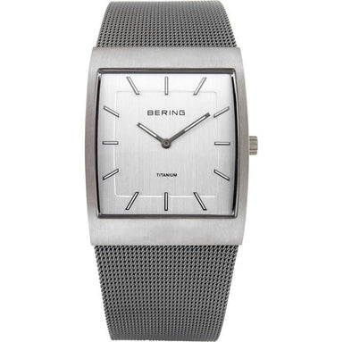 Titanium 11233-200 Silver 33 mm Men's Watch-Bering-COCOMI