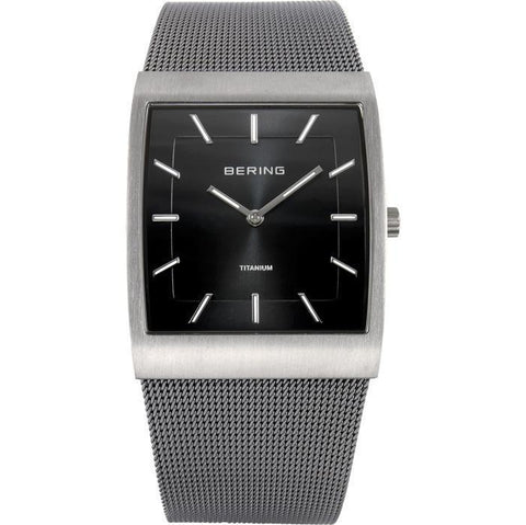 Bering Classic 11233-202 Black 37 mm Men's Watch - COCOMI