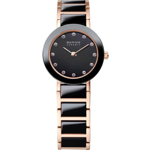 Bering Ceramic 11422-746 Black 22 mm Women's Watch - COCOMI