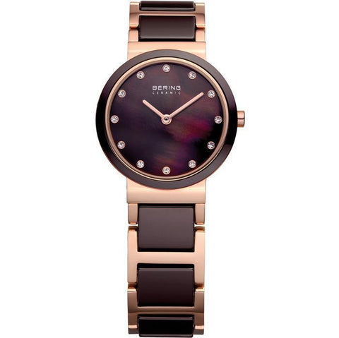 Ceramic 11422-765 Brown 22 mm Women's Watch-COCOMI