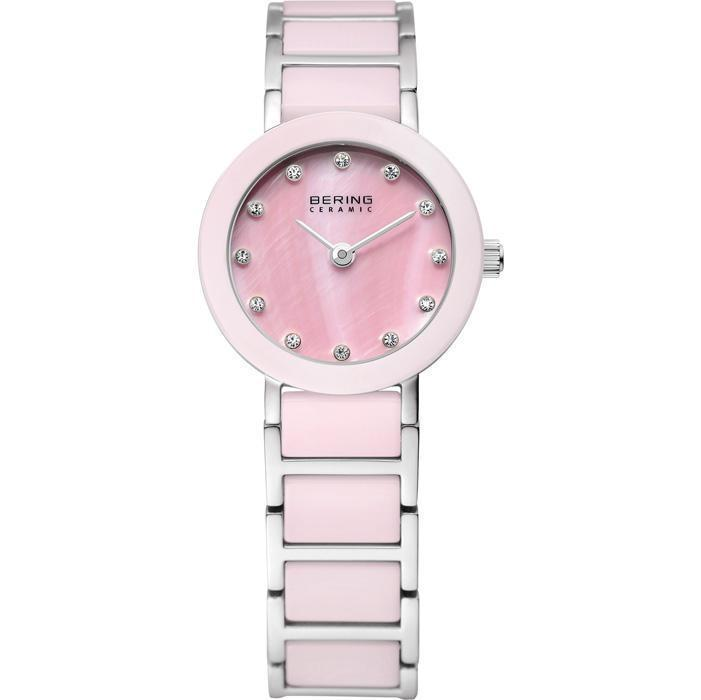 Ceramic 11422-999 Pink 22 mm Women's Watch-Bering-COCOMI