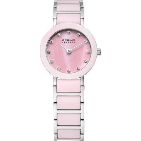 Bering Ceramic 11422-999 Pink 22 mm Women's Watch - COCOMI