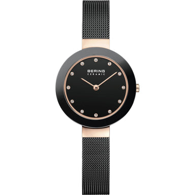 Ceramic 11429-166 Black 29 mm Women's Watch-Bering-COCOMI