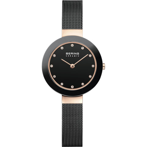 Ceramic 11429-166 Black 29 mm Women's Watch-COCOMI