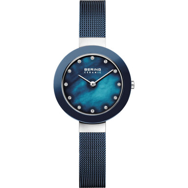Ceramic 11429-387 Blue 29 mm Women's Watch-Bering-COCOMI