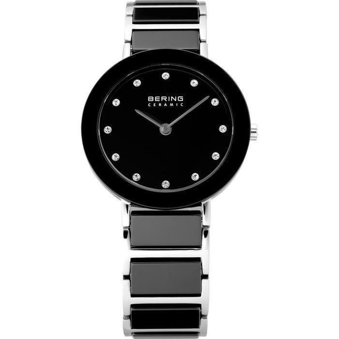 Ceramic 11429-742 Black 29 mm Women's Watch-Bering-COCOMI