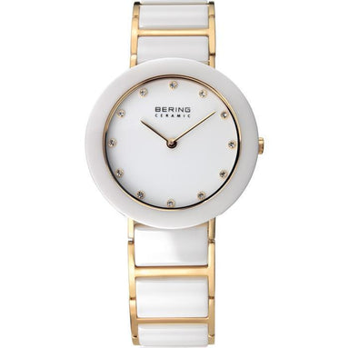 Ceramic 11429-751 White 29 mm Women's Watch-Bering-COCOMI