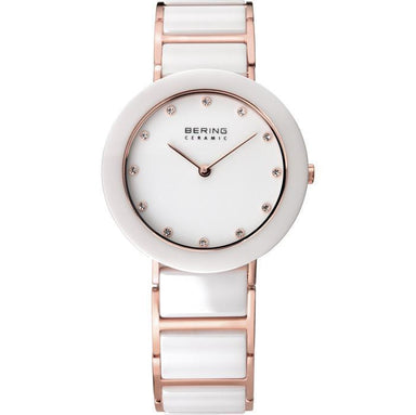 Ceramic 11429-766 White 30 mm Women's Watch-Bering-COCOMI