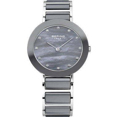 Ceramic 11429-789 Grey 29 mm Women's Watch-Bering-COCOMI