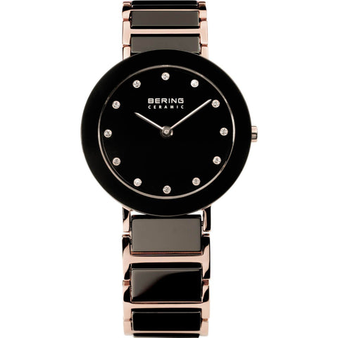 Bering Ceramic 11435-743 Black 35 mm Women's Watch - COCOMI