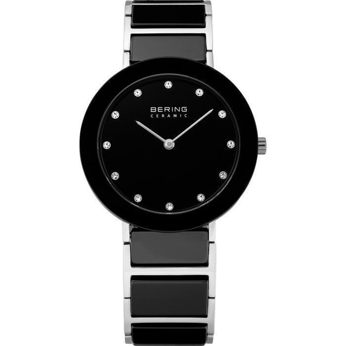 Ceramic 11435-749 Black 34 mm Women's Watch-Bering-COCOMI