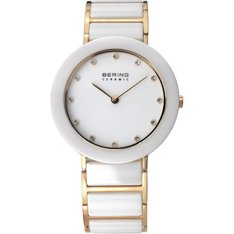 Bering Ceramic 11435-751 White 35 mm Women's Watch - COCOMI