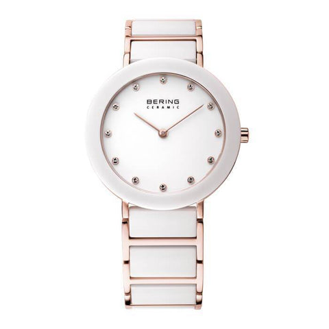 Bering Ceramic 11435-766 White 35 mm Women's Watch - COCOMI